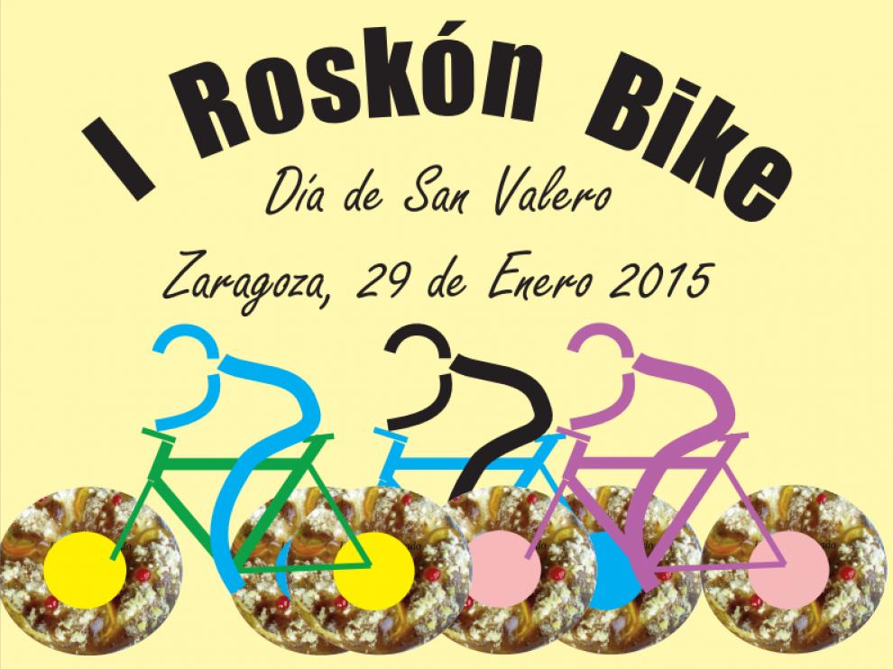 Roskon Bike, un paseo por Zaragoza en bicicleta para celebrar el día de San Valero