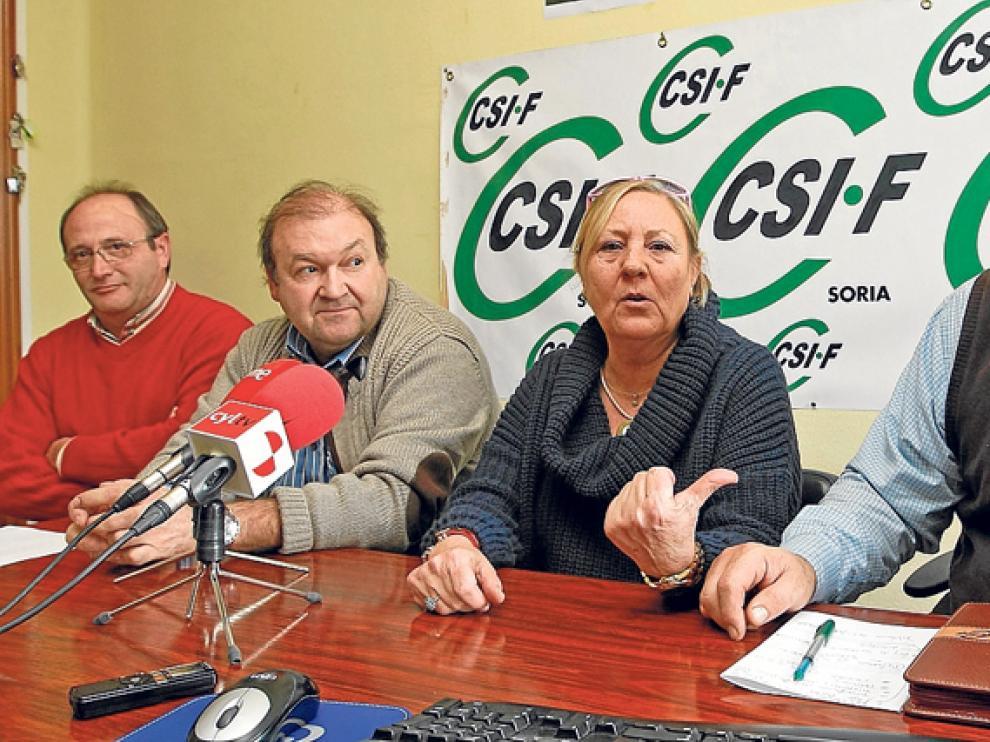 El encuentro de este martes que reunió a representantes regionales y provinciales de CSI-F
