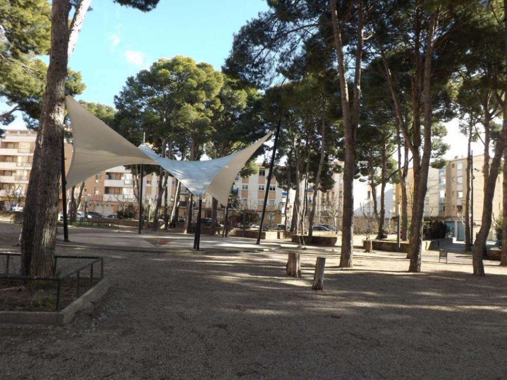 Parque del Perpetuo Socorro de Huesca.