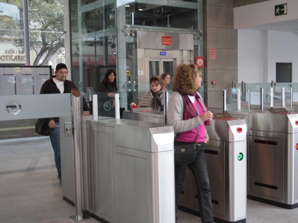 Estación de Goya, una de las más usadas