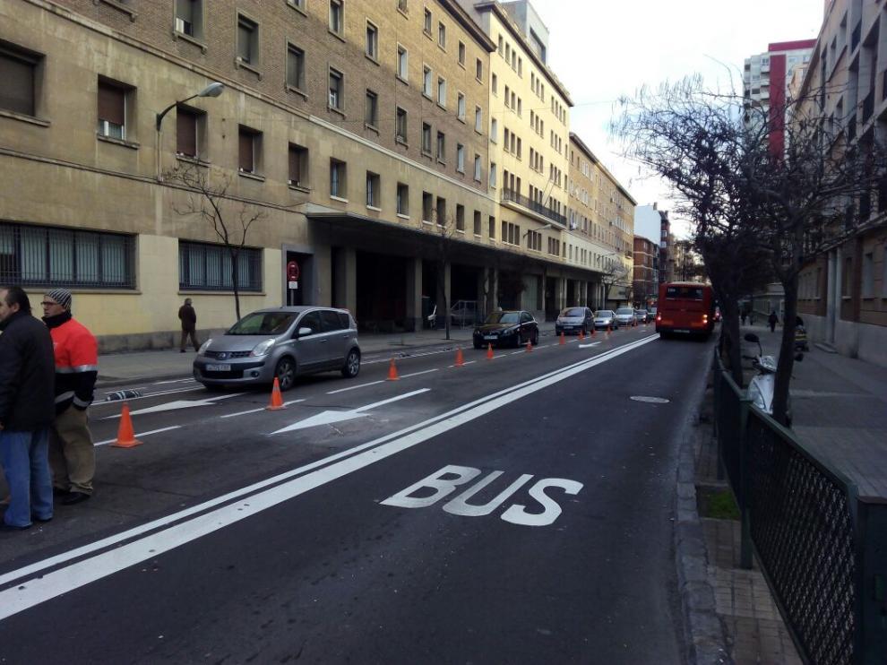 Cruce de ?la avenida de Valencia con Corona de Aragón