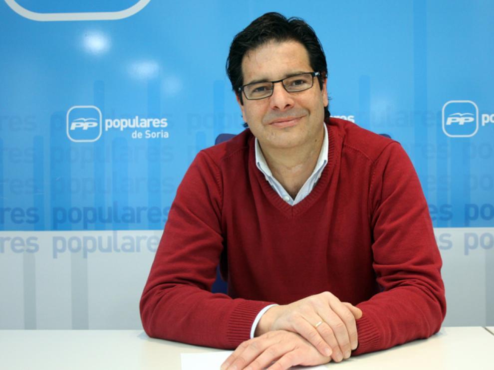 El nuevo procurador Javier Martín