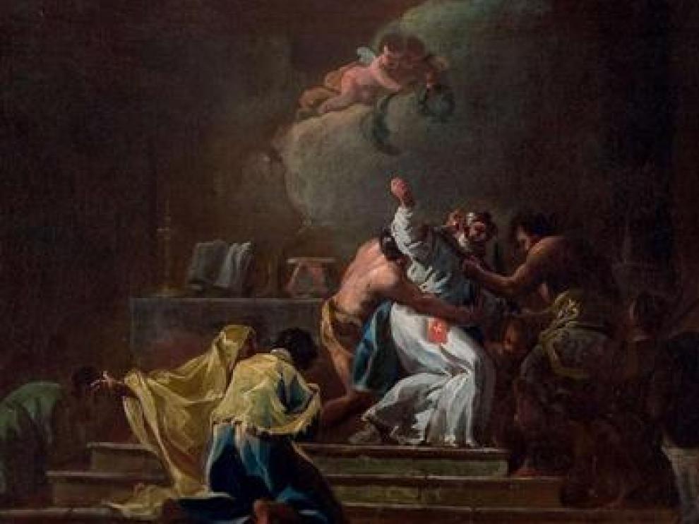 Las  pinturas de Goya en la Cartuja del Aula Dei se muestra en Centro de Guadalajara