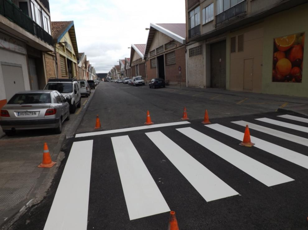 Calles recién asfaltadas