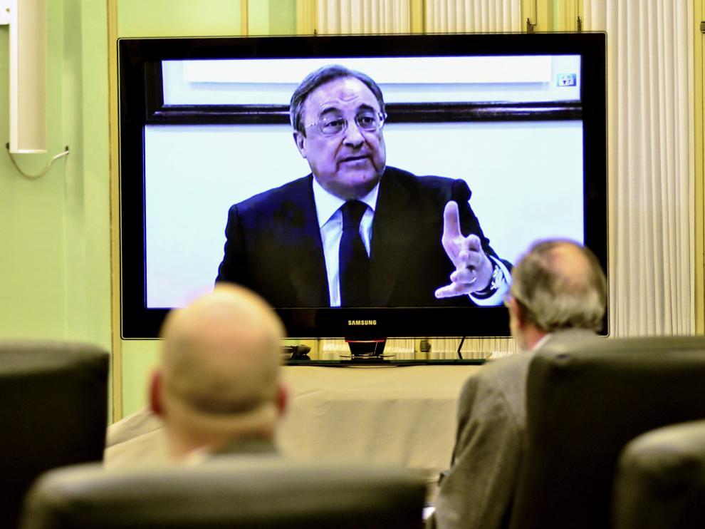 Videoconferencia ante la comisión del Parlament Balear