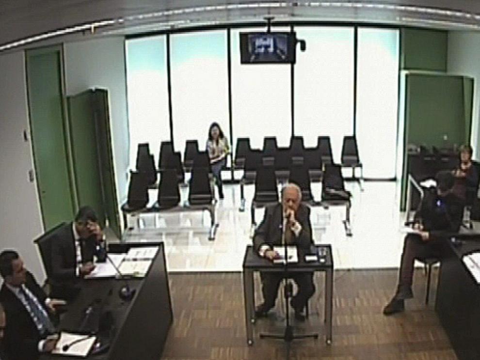 Pujol, durante su declaración ante el juez