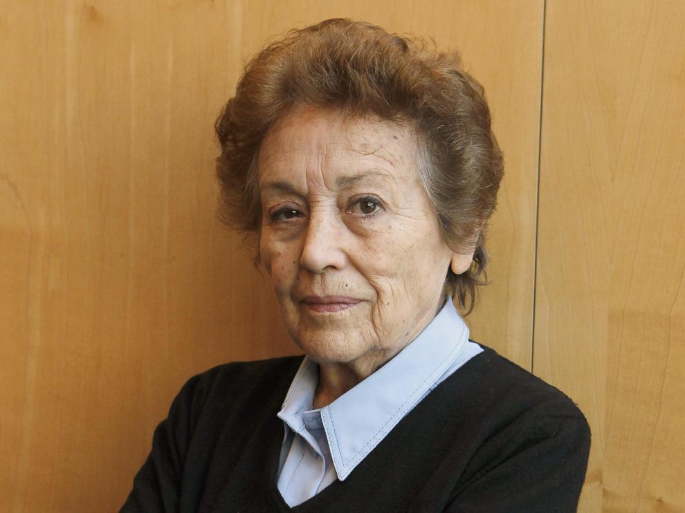 La actriz Amparo Baró