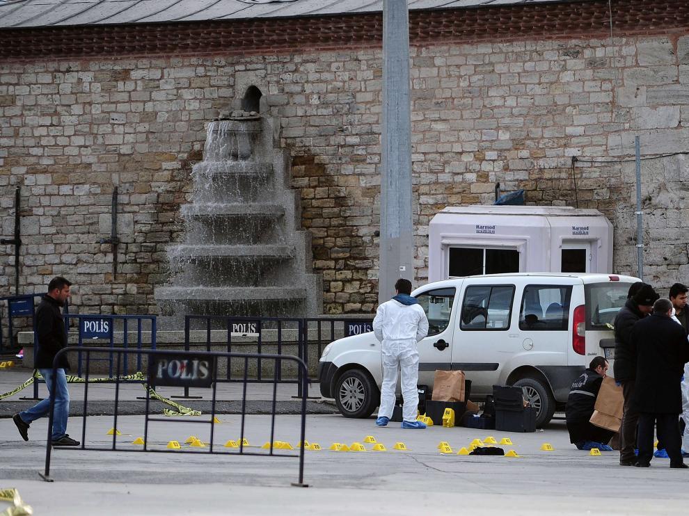 Disparos en la plaza Taksim