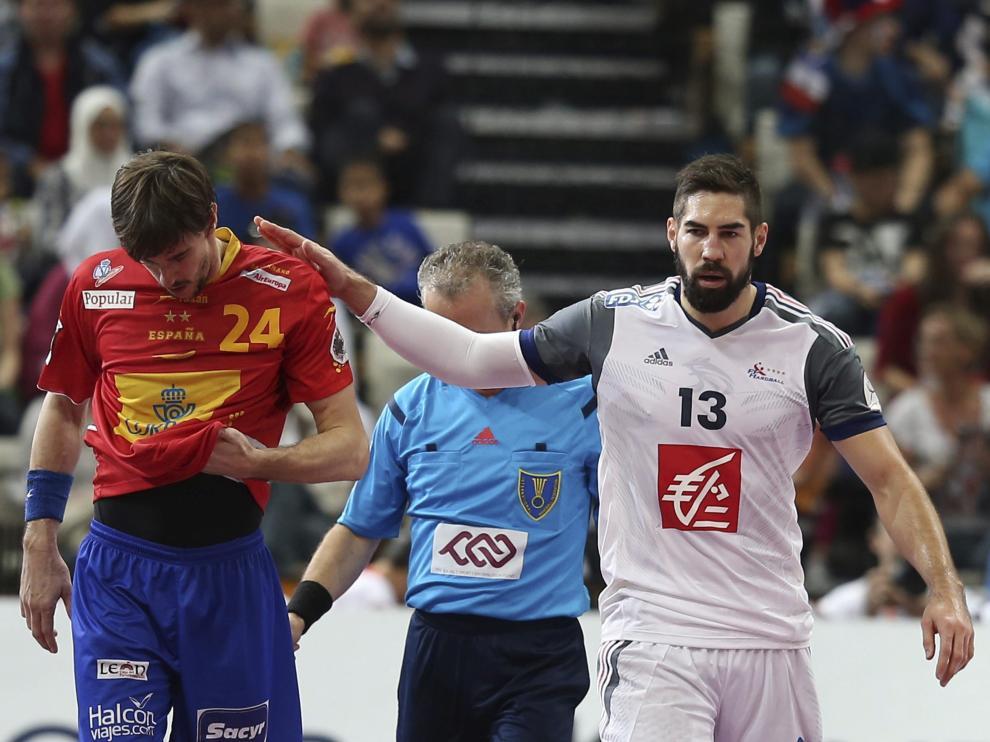Final de la semifinal entre España y Dinamarca