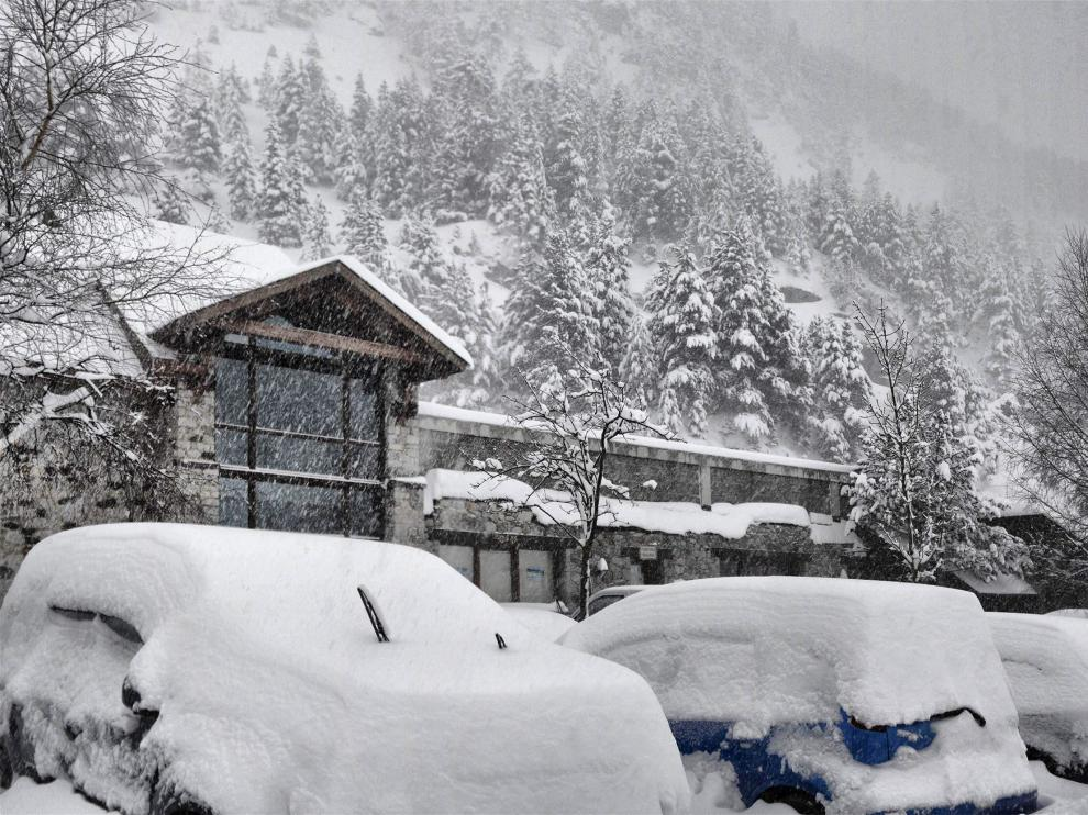 Cerrado por nieve el Somport