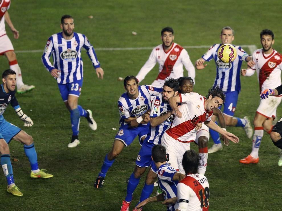 Rayo Vallecano-Deportivo de la Coruña