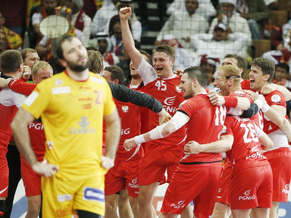 Derrota de España ante Polonia en el Mundial de Catar