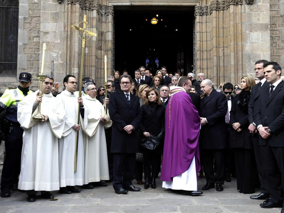 Funeral de José Manuel Lara