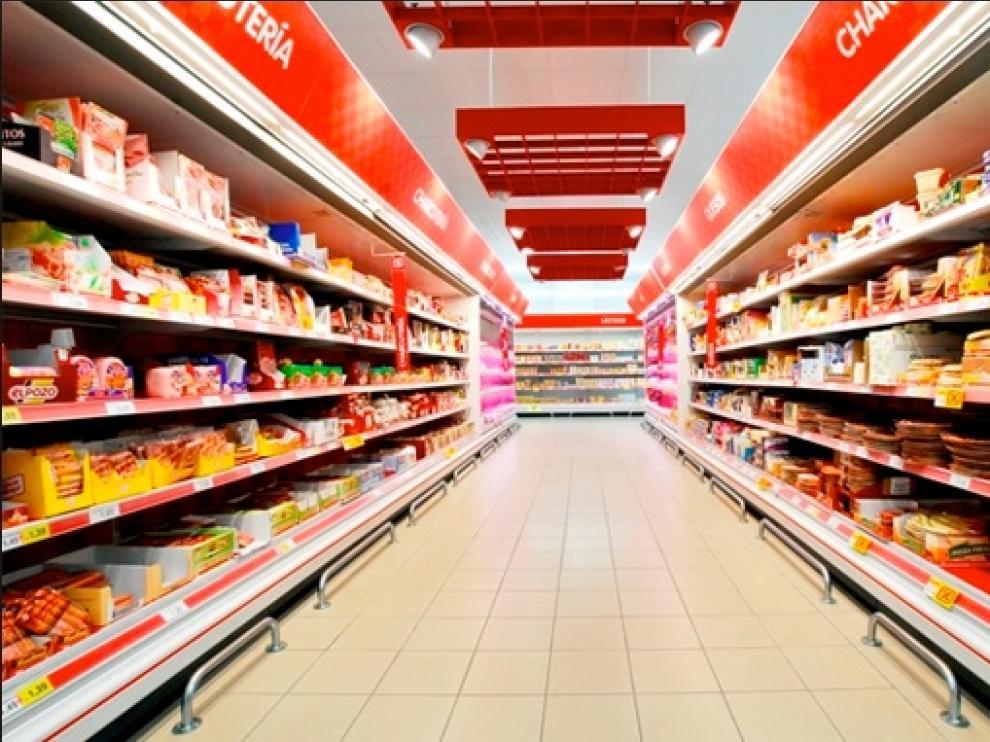 El empleado trabajaba en un supermercado DIA en Mallén (Zaragoza).