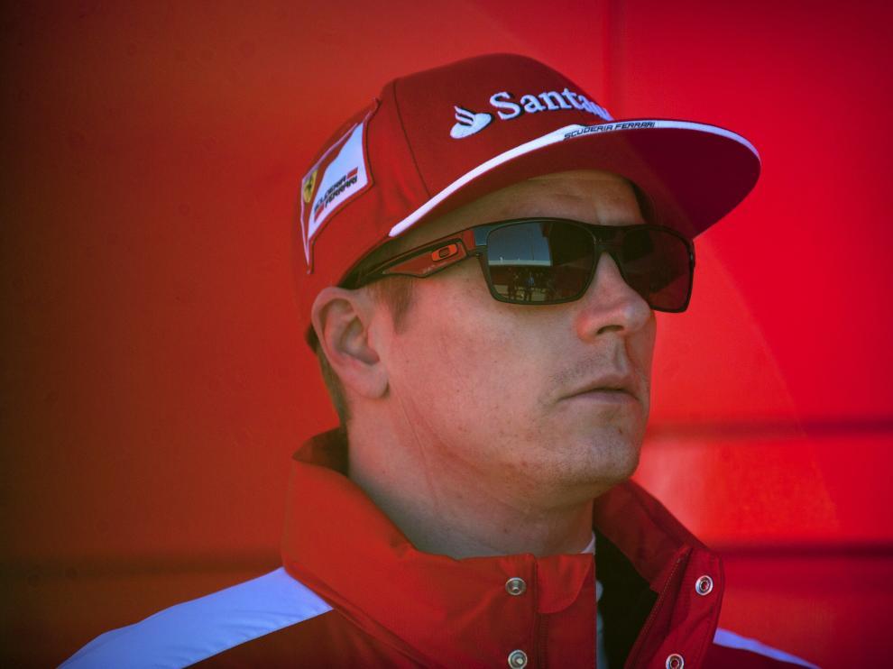 Kimi Raikkonen.