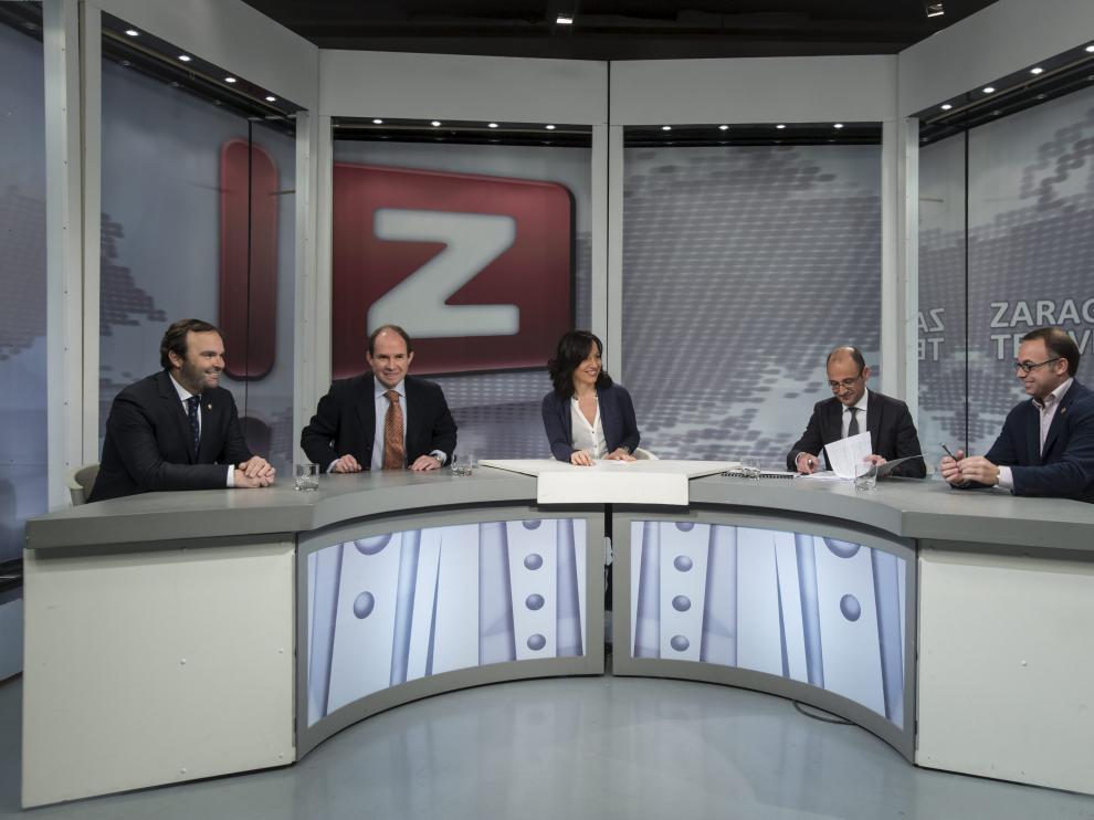 El último debate de 'Tribuna abierta', en ZTV