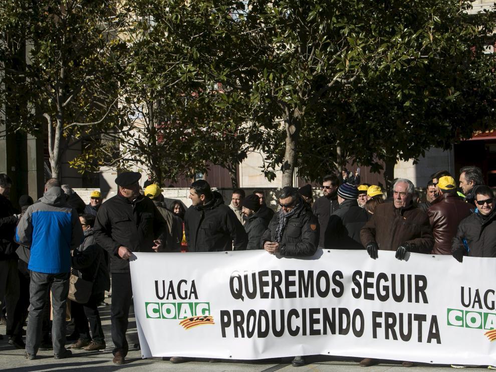 Protesta de UAGA
