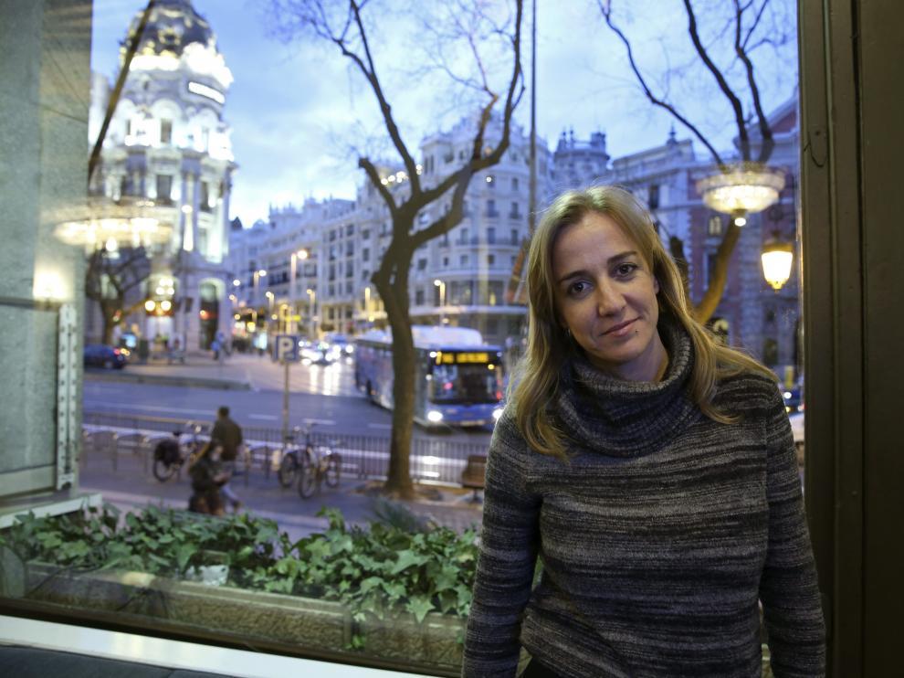 La excandidata de IU a la Comunidad de Madrid, Tania Sánchez.