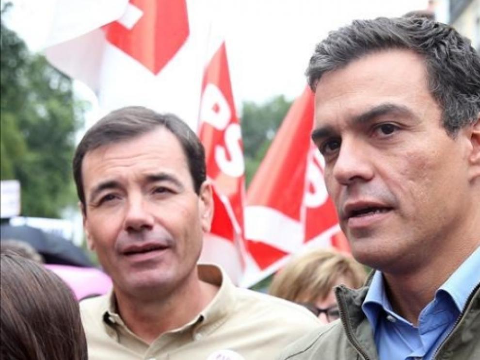 Pedro Sánchez destituye a Tomás Gómez y crea una comisión gestora en Madrid