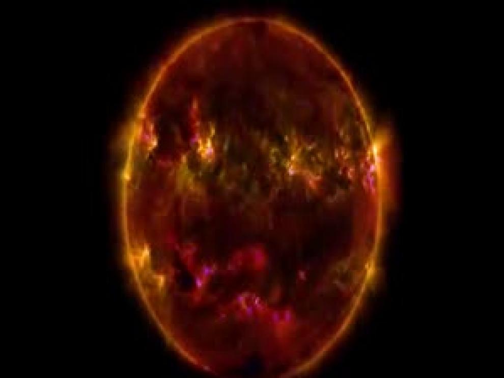 El Sol captado por la NASA