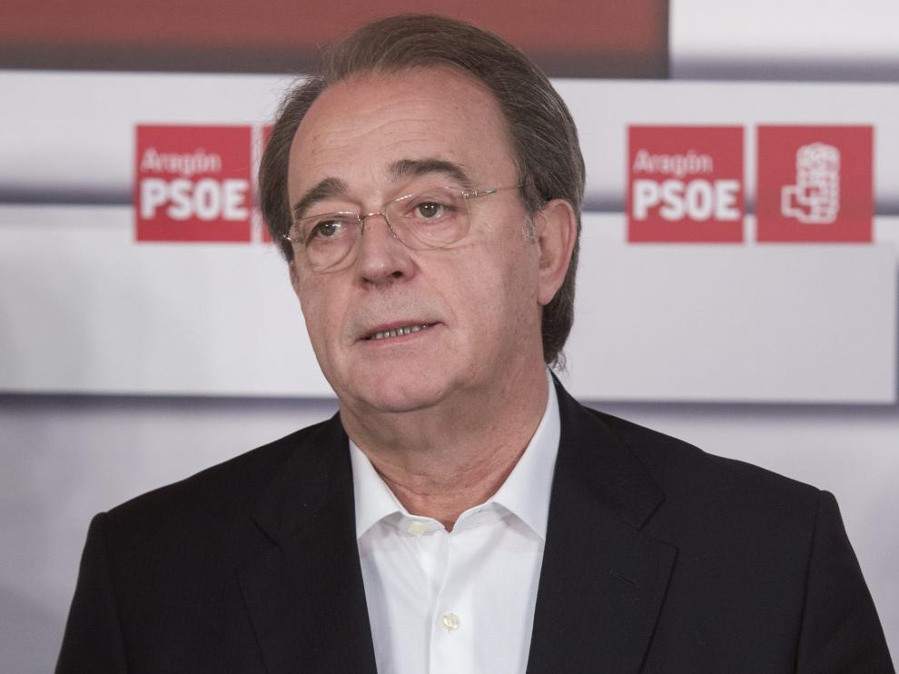El portavoz del PSOE en el Ayuntamiento de Zaragoza, Carlos Pérez Anadón