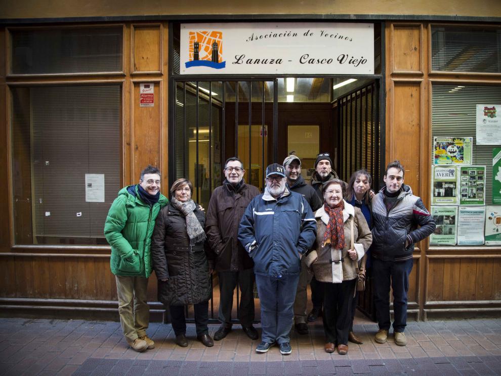 Asociación de vecinos Lanuza-Casco Viejo