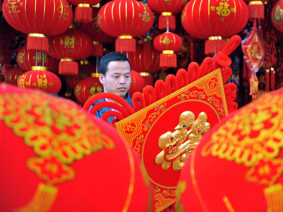 Los chinos se preparan para su Año Nuevo