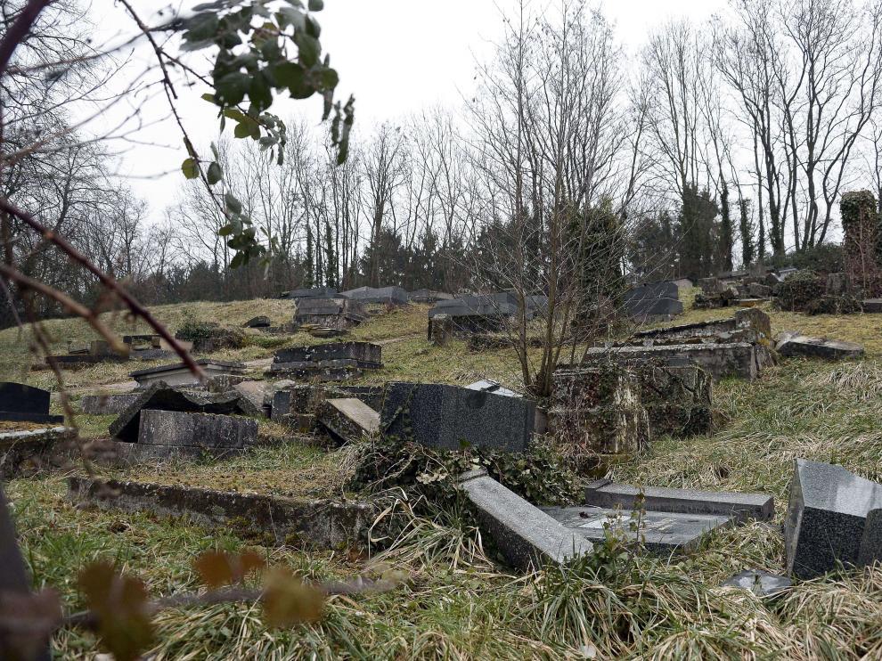 Cementerio judío atacado este fin de semana en Francia