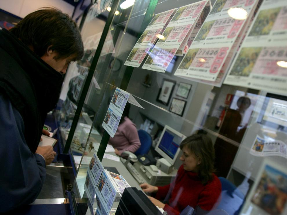 Una administración de Loterías y Apuestas en Zaragoza