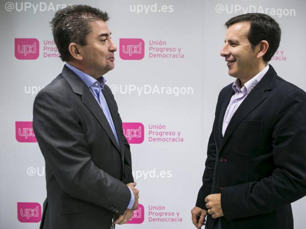 Javier Puy y Carlos Aparicio.