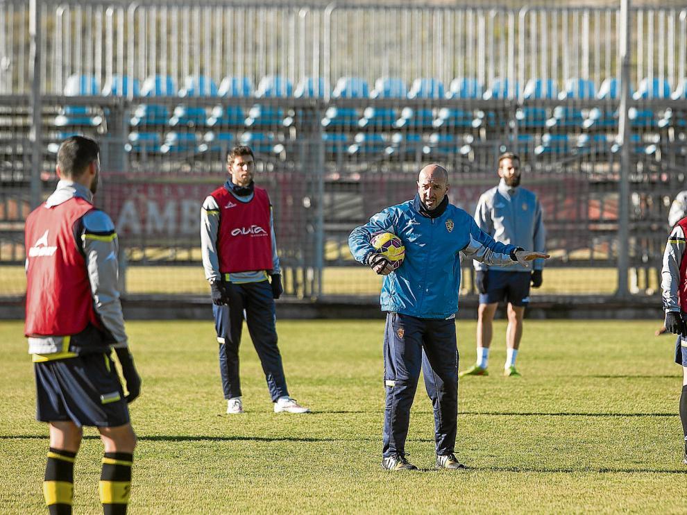 Ranko Popovic en el entrenamiento