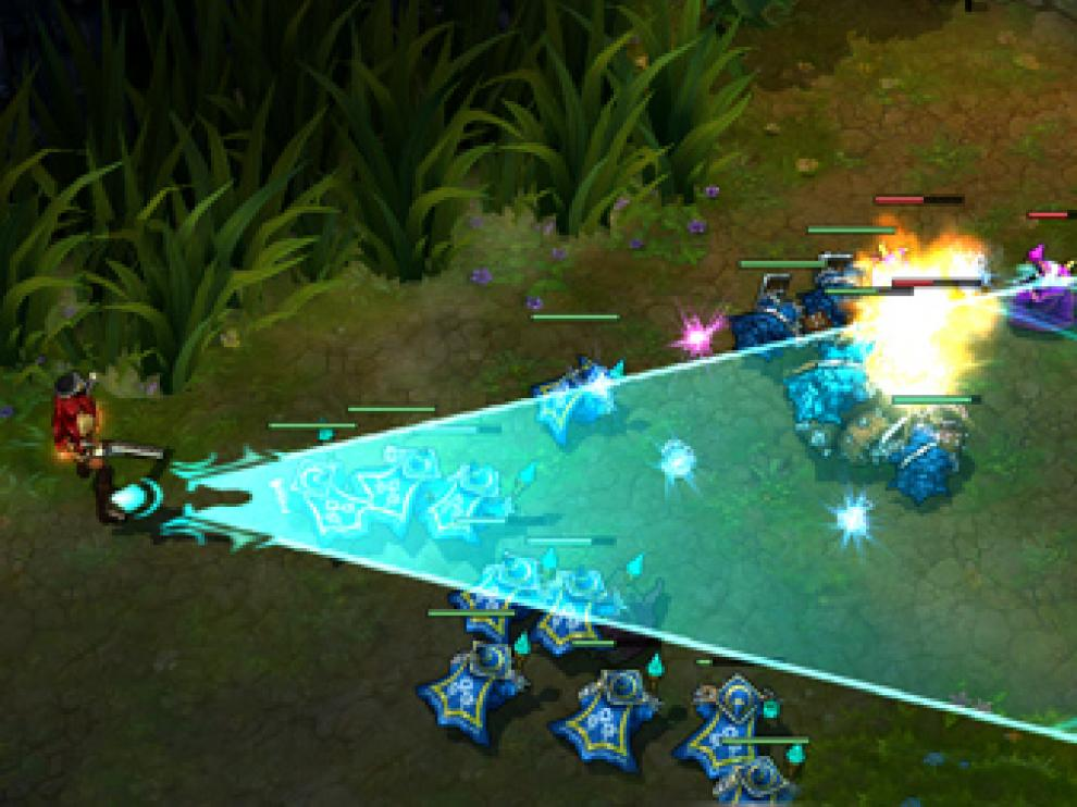 Captura de pantalla del juego 'LoL', ('League of Legends')