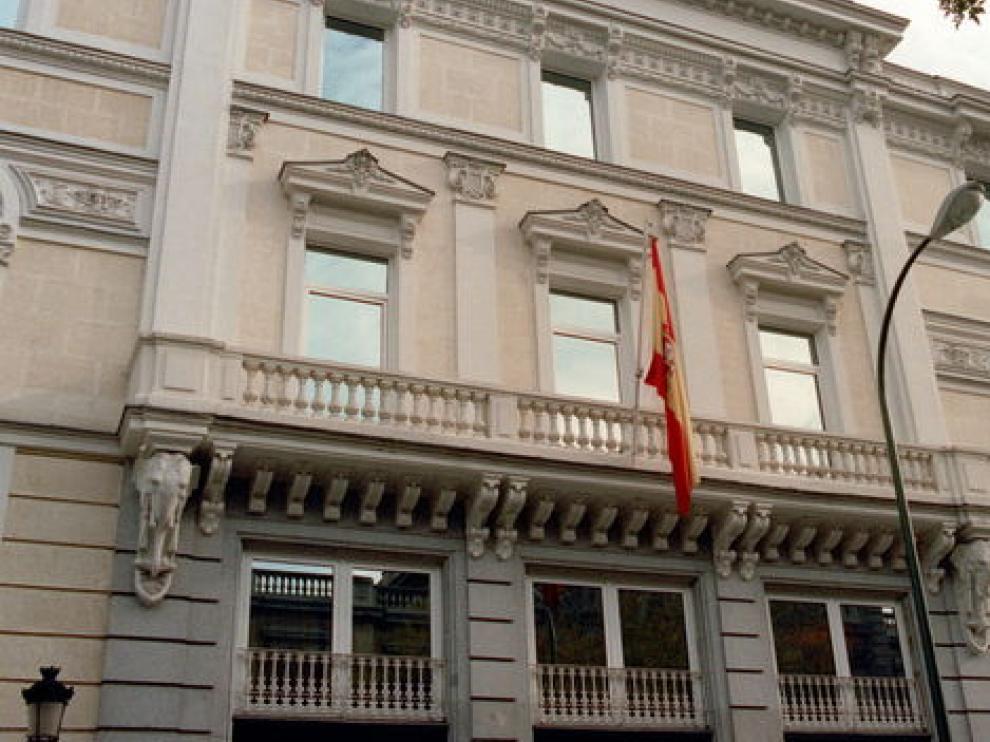 Sede del Consejo General del Poder Judicial en Madrid