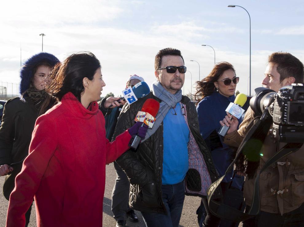 Ortega Cano entra en la cárcel tras su anterior permiso