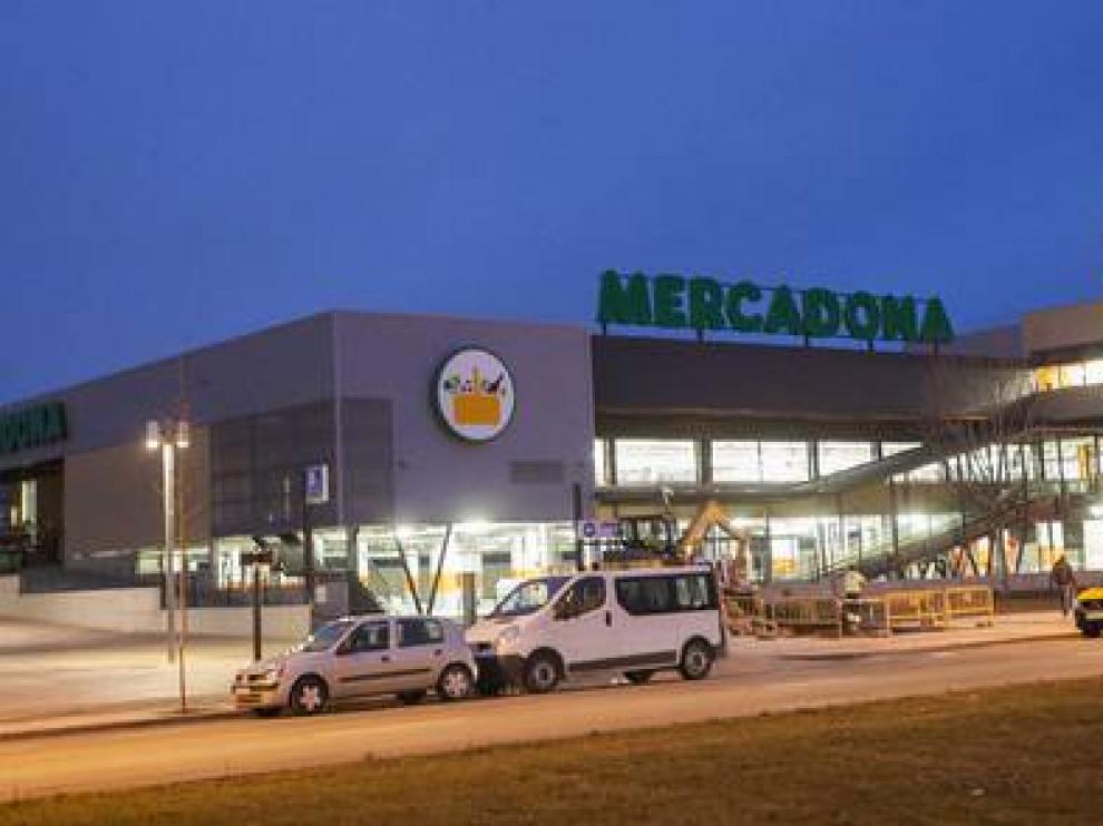 Nuevo supermercado de Mercadona en Ranillas