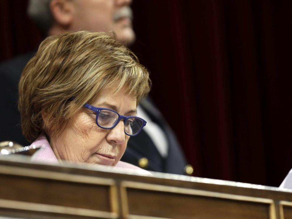 Celia Villalobos, en la sesión de este miércoles