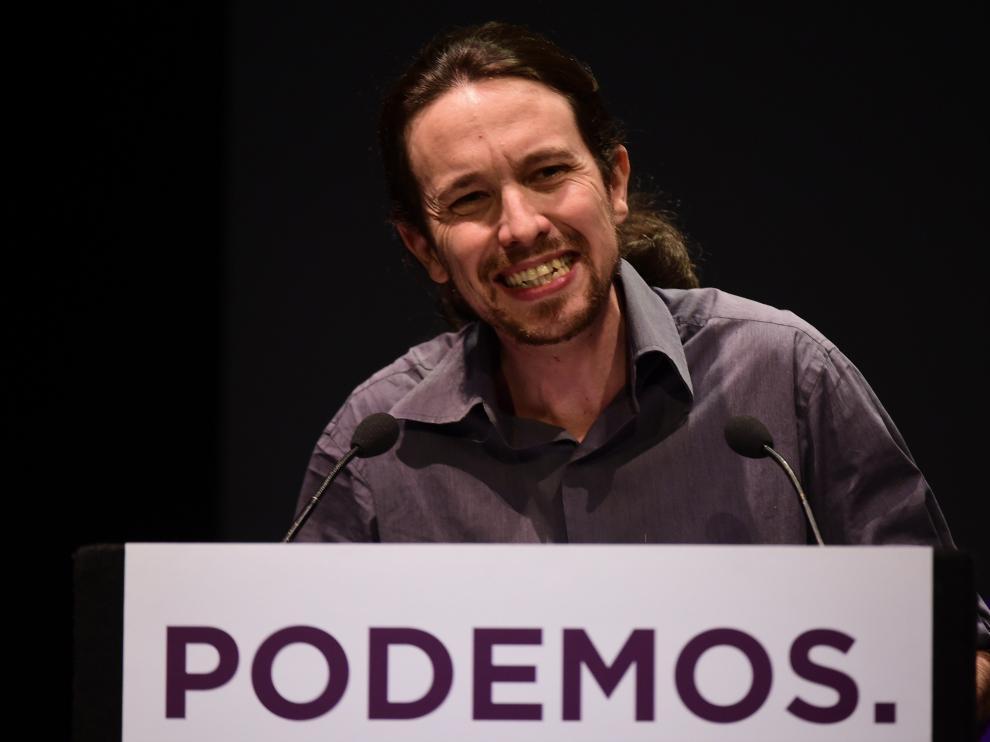 """El líder de Podemos, Pablo Iglesias, podría reunirse """"pronto"""" con Felipe VI"""