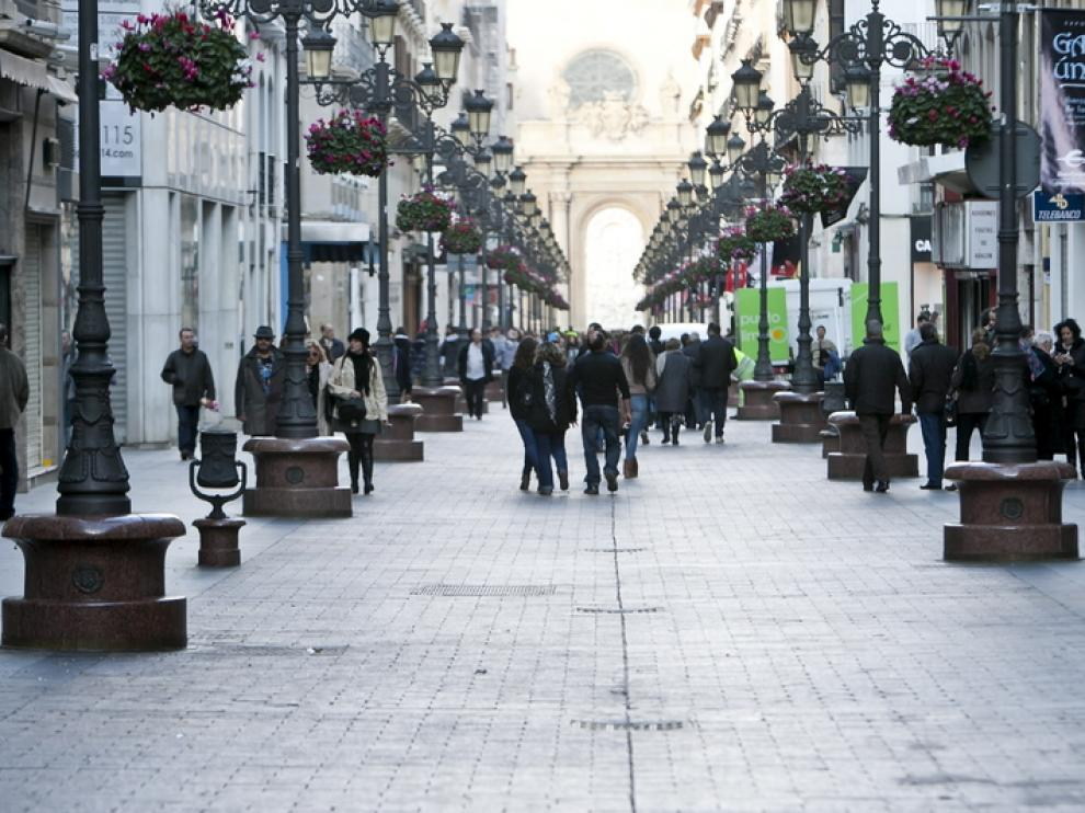 Imagen de archivo de la calle Alfonso de Zaragoza