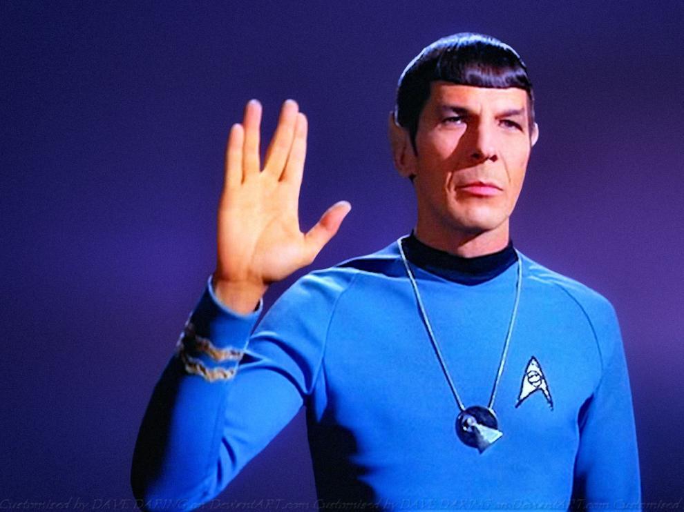Spock en la saga 'Star Trek'