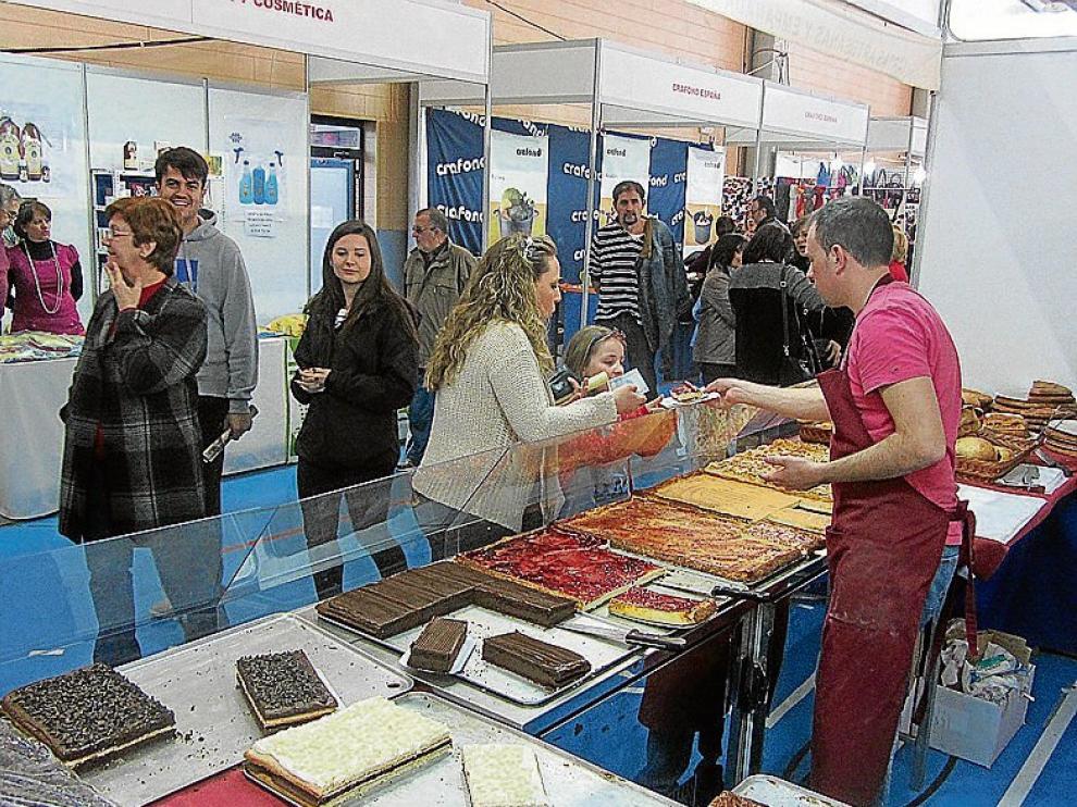 La gastronomía tiene un lugar destacado en Expo-Pinseque.