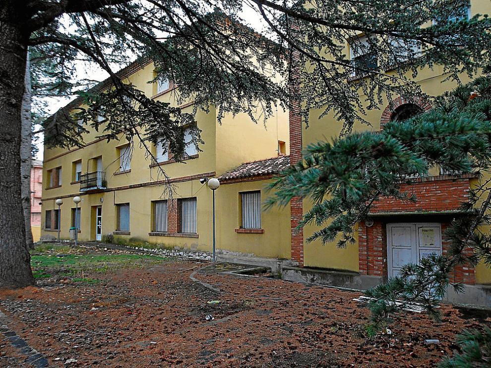 El antiguo Centro de Acogida Menores de Teruel, actualmente en desuso.