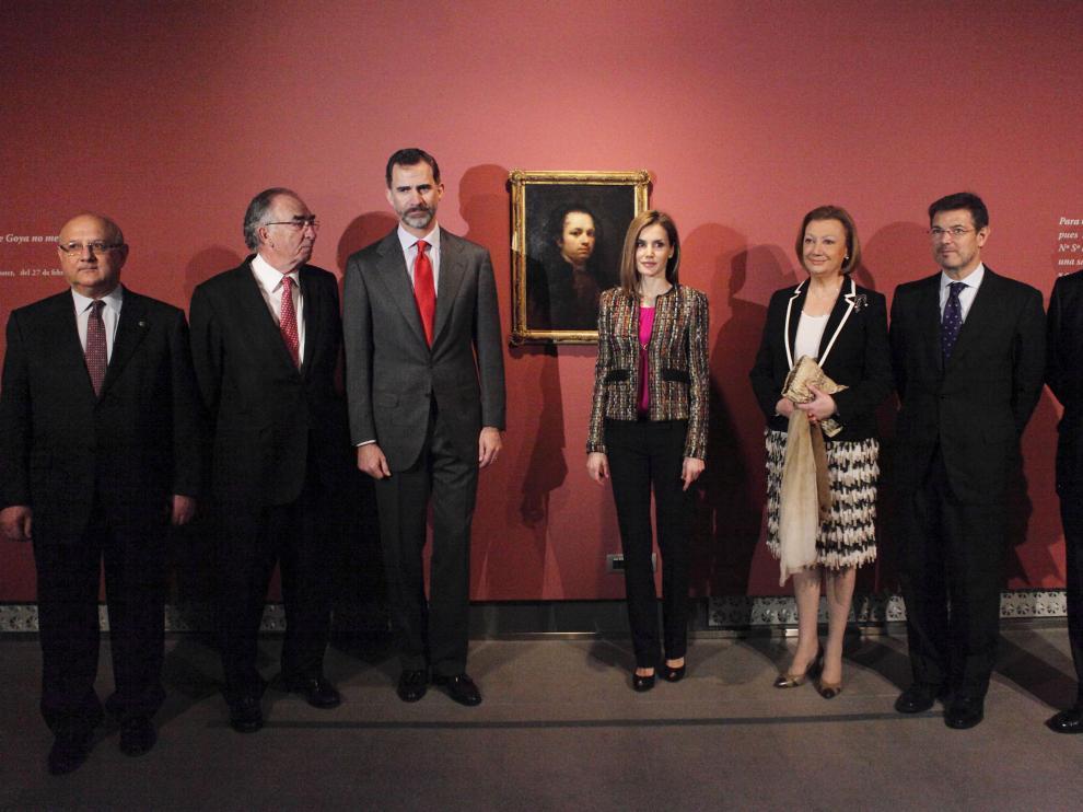Los Reyes en el 'Museo Goya. Colección Ibercaja'