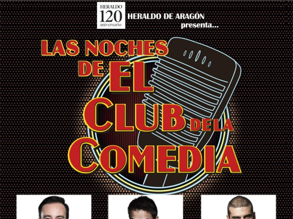 Dani Rovira, Oswaldo Digón y Pedro Llamas actuarán el 20 de marzo en Zaragoza