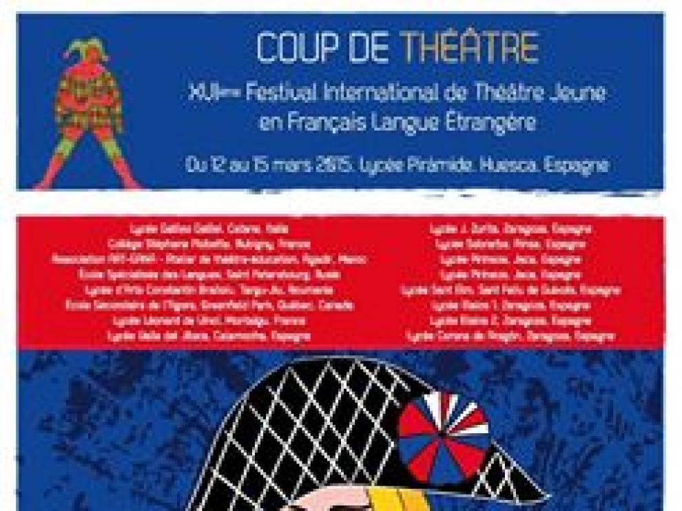 Cartel del festival 'Coup de Théâtre'