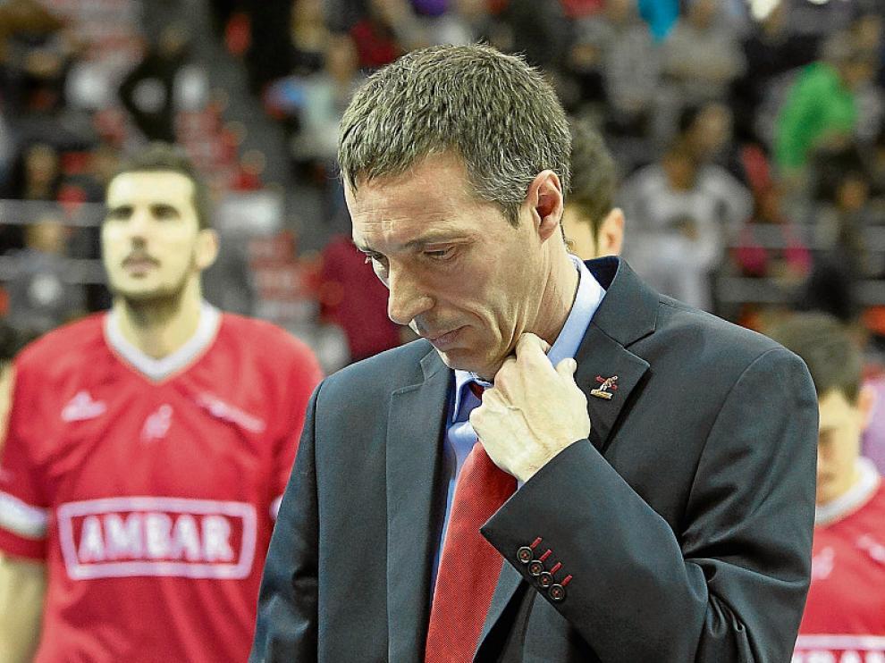 «Trataremos de aprovechar sus dudas» ALEJANDRO MARTÍNEZ Entrenador del Iberostar Tenerife