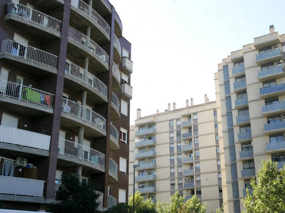 Cada vez más familias aragonesas viven de alquiler