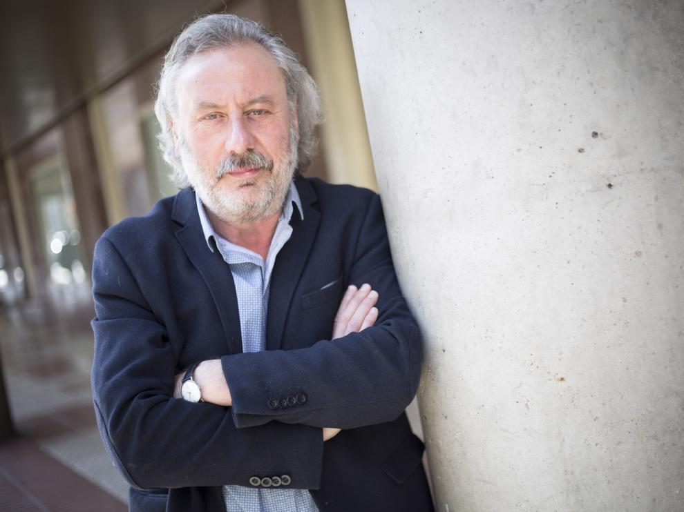 Julio Llamazares, este martes en Zaragoza