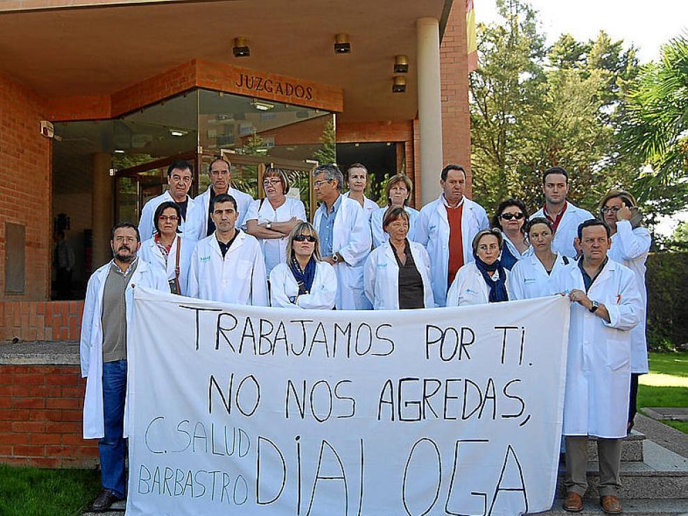 Las agresiones a médicos en Aragón se multiplican por siete