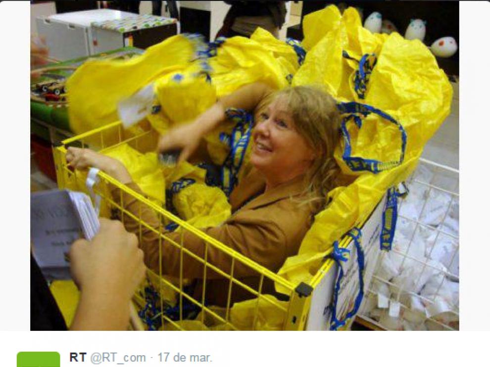 Jugando al escondite en Ikea