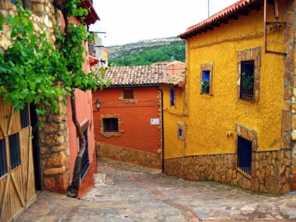 Imagen de archivo de un pequeño municipio de Aragón.